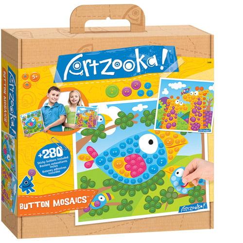 Artzooka Button Mosaic- Animals ( Large)