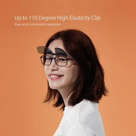 5a1b444f8b7f Xiaomi Turok Steinhardt TS Clip Sunglasses Polarized Sun Glasses Anti UVA  UVB For Myopias Outdoor Travel Fishing - Walmart.com