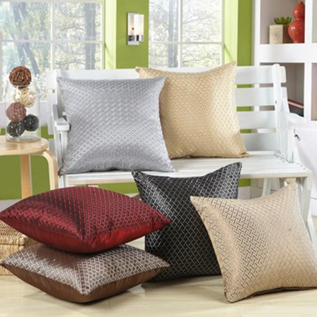 Wholesale Cast Iron (2 Pack Solid Color Luxury Pillow Covers by Kaneesha)