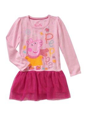 9c0fc5f05a Toddler Girls  Long Sleeve Drop Waist Dress
