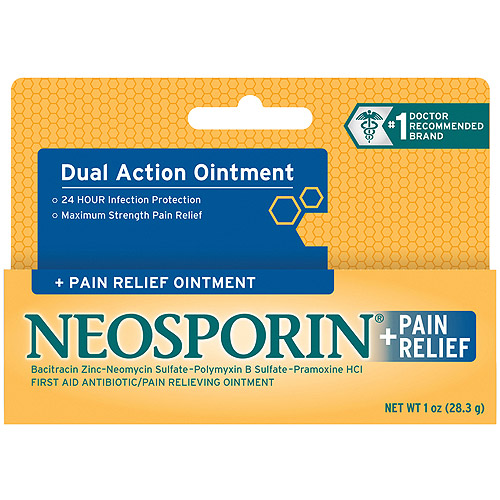 Neosporin + Pain Relief Ointment, 1 oz.