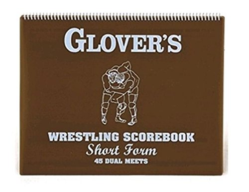 Wrestling Short form Scorebook (45 Matches), Actual size is 9.5 x 12 and scores 45 matches or tournaments By... by
