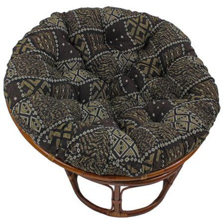 Blazing Needles 44 Inch Exotic Tapestry Papasan Cushion 44 X 44