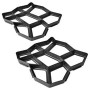 """Wchiuoe Pavement Mold for the Garden 16.5""""x16.5""""x1.6"""" Set of 2 Building Materials"""