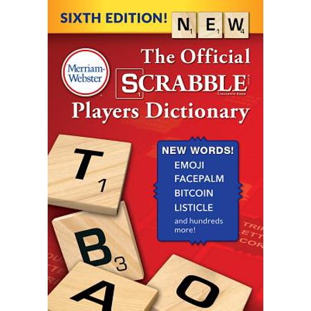 The Official Scrabble Players Dictionary, Sixth (Fundamentals Of Eu Regulatory Affairs Sixth Edition)