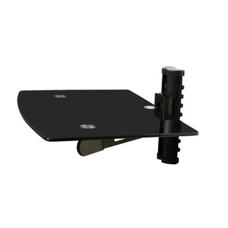 mount it wall mounted tv and component shelf combo dvd dvr. Black Bedroom Furniture Sets. Home Design Ideas