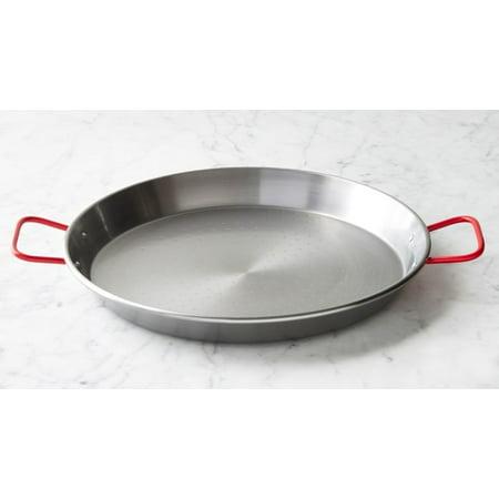 """Paella steel pan, Paellera 5 servings 12.6"""" 32 cm by Garcima"""