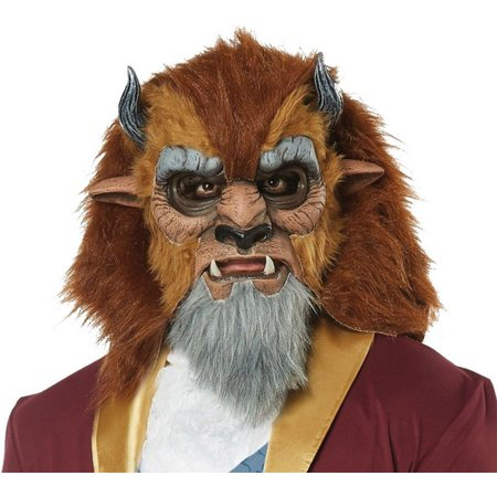Brown Wolf Mask (Storybook Beast Costume Mask)