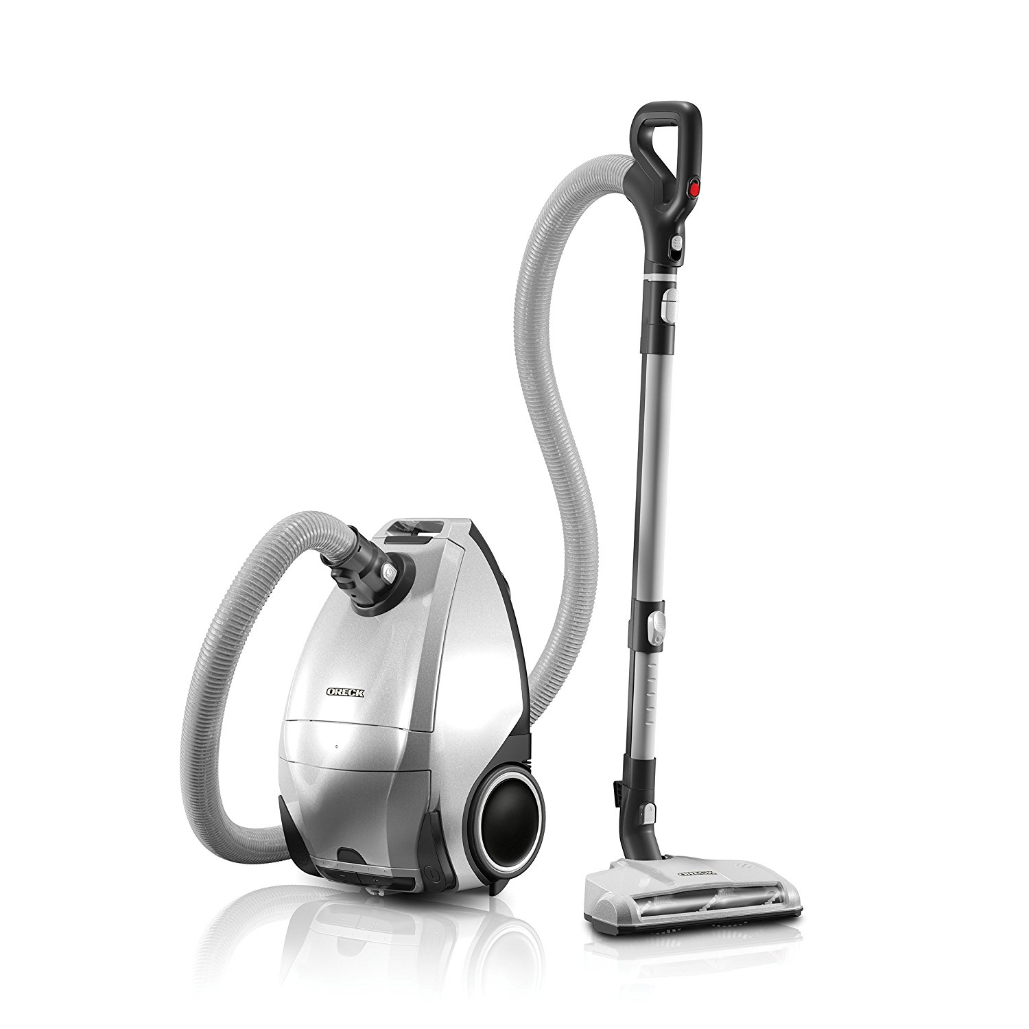 ORECK Venture Pro Multi Floor Bagged Canister Vacuum Cleaner | Carpet, Tile and Hardwood Flooring | Dirt, Debris, Pet Hair | Lightweight, High-Suction Clean | 7 YEAR Warranty And 7 Tune-Ups