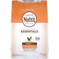 NUTRO WHOLESOME ESSENTIALS Adult Natural Dry Dog Food, Farm-Raised Chicken, Brown Rice & Sweet Potato Recipe, 15 lb. Bag
