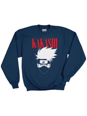 7e84f496d5fba Product Image Ripple Junction Naruto - Shippuden Kakashi Logo Adult  Sweatshirt Navy Blue