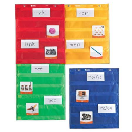 Magnetic Pocket Chart Squares, Classroom/Teacher Organizer, All Grades Learning Resources ()