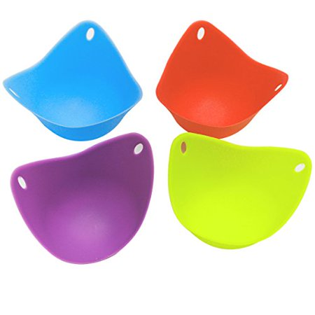 Silicone Egg Poacher Cups Bpa Free Poaching Pods For
