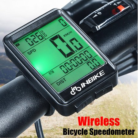 Waterproof Digital Wireless Cycling Bike Bicycles Computer Odometer Speedometer (Vdo Bike Computer)