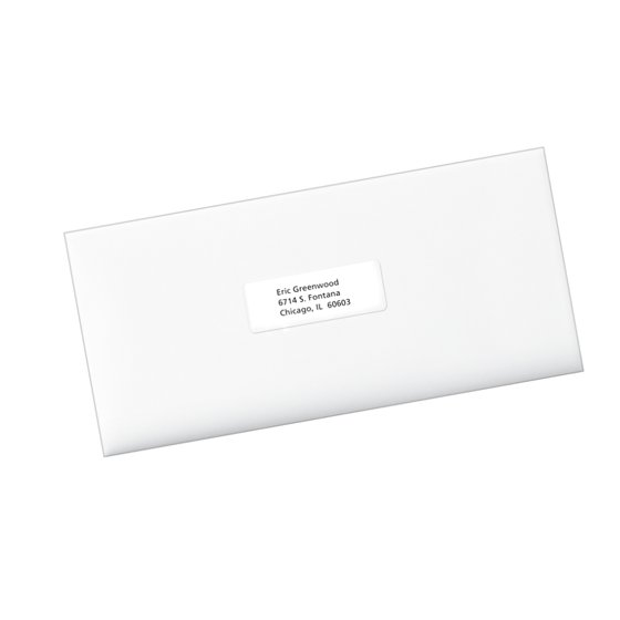 Avery Easy Peel Address Labels 1 X 2 58 300 Count Walmart
