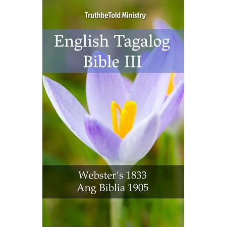 English Tagalog Bible III - eBook