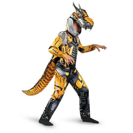 Transformers Child Deluxe Grimlock Costume - Kids Transformers Costume