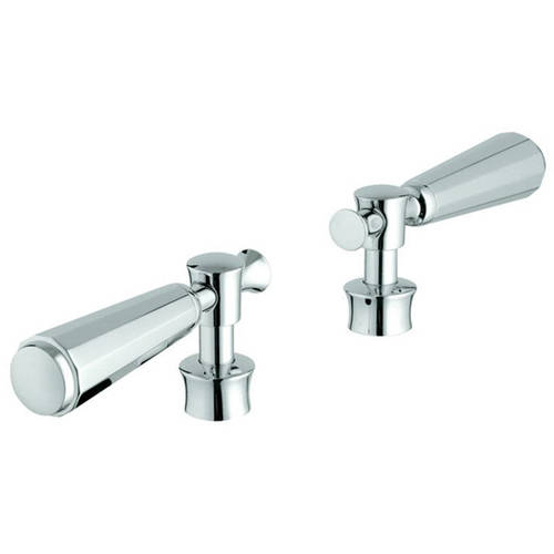 Grohe 18087000 Kensington Lever Handles (2 Pack), Available in Various Colors