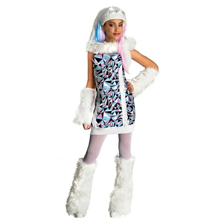 Child Monster High Abbey Bominable Costume by Rubies 881362
