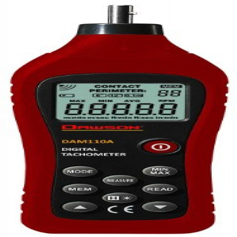 Dawson DAM110A Digital Contact Tachometer