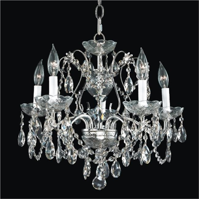 Glow Lighting 537AD5LSP-7C Crown Jewel 20 in. Traditional...