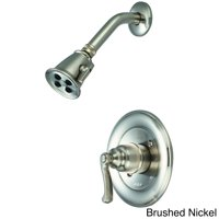 Pioneer 4BR330T-BN Single Handle Shower Trim Set Brush Nickel