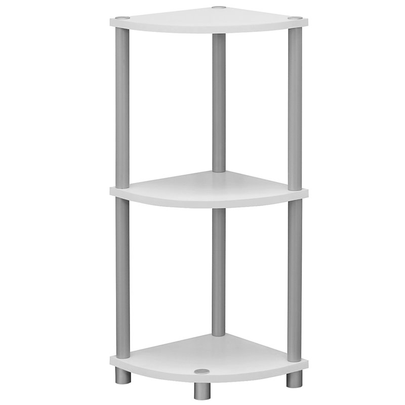 "Monarch Accent Table 30""H   White Or Black Reversible by Monarch Specialties Inc"