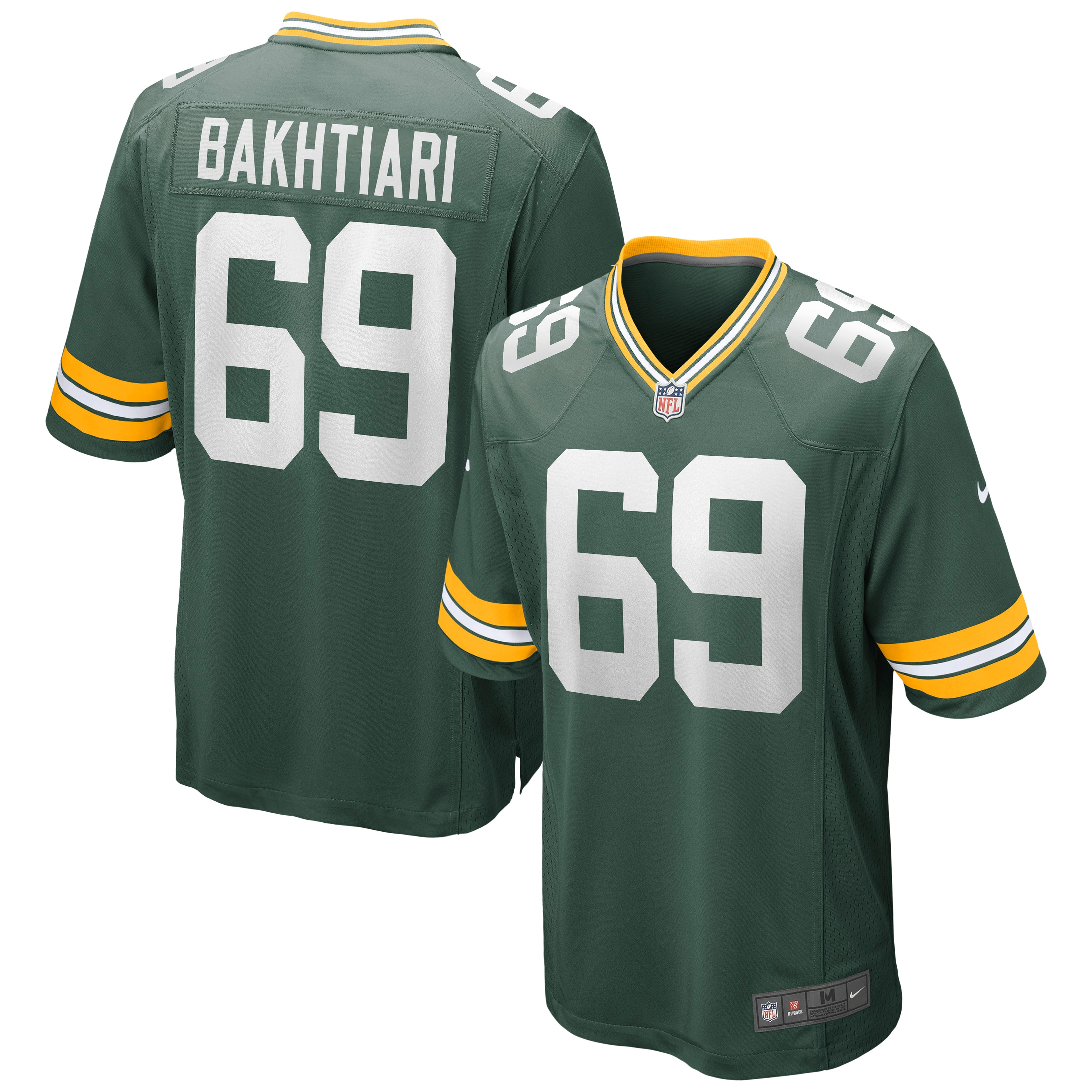 David Bakhtiari Green Bay Packers Nike Game Jersey - Green - Walmart.com
