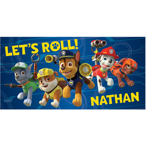 Personalized PAW Patrol Puptastic Beach Towel