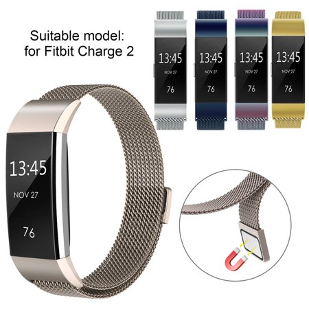 Replacement Magnetic Wrist Band Watch Strap Bracelet For Fitbit Charge 2 - image 9 of 9
