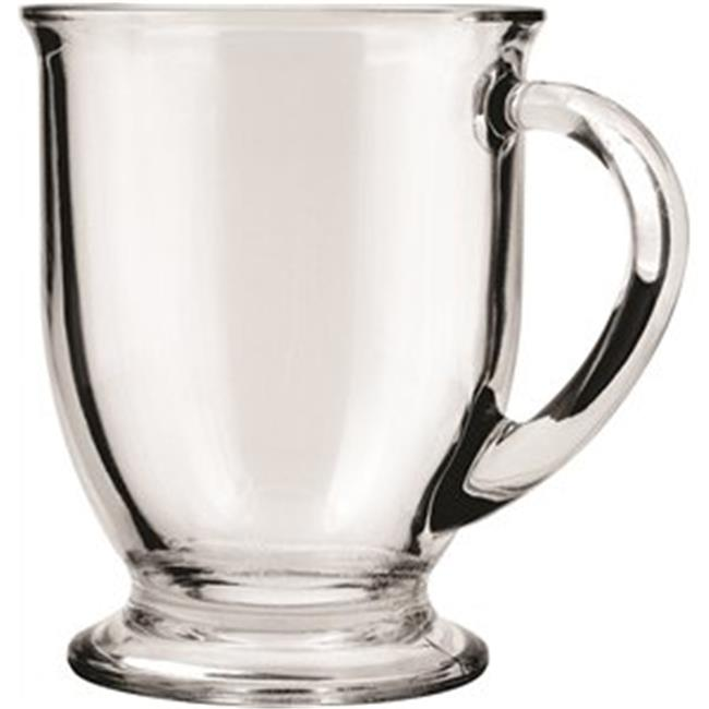 Anchor Hocking 83045A 16 oz.  Mug Crystal Cafe