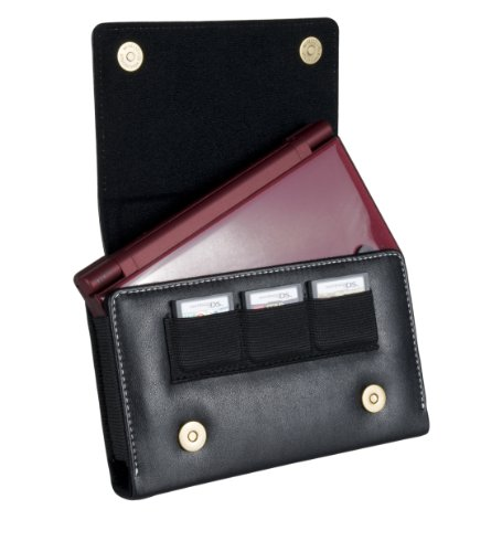 Cta Digital Lds-lc Carrying Case For Portable Gaming Console - Scratch Resistant - Leather (lds-lc)
