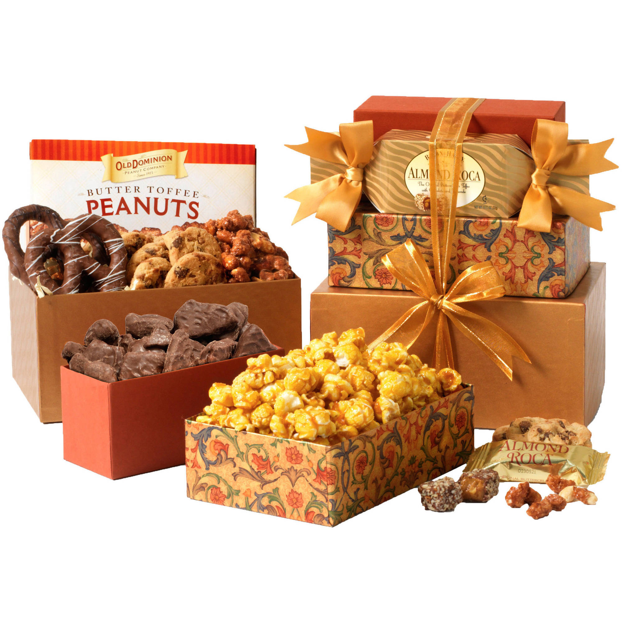 Broadway Basketeers Snackers Heaven Gift Set, 6 pc