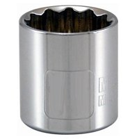 0.38 in. Drive Master Mechanic 19 mm 12 Point Socket