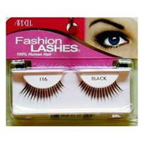 Ardell Fashion Lashes Strip Lashes, #116 Black- 4 Pack, 3 Pack