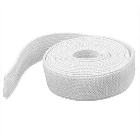 Hairband DIY Clothing White Flat Elastic Band Sewing Tailor Tool 3.3ft 1Meter for Home - Elastic Bands For Masks