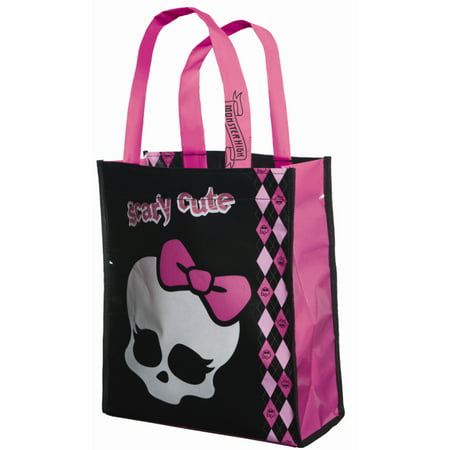 Monster High Trick or Treat Bag Child Halloween Accessory - Halloween No Trick Or Treaters