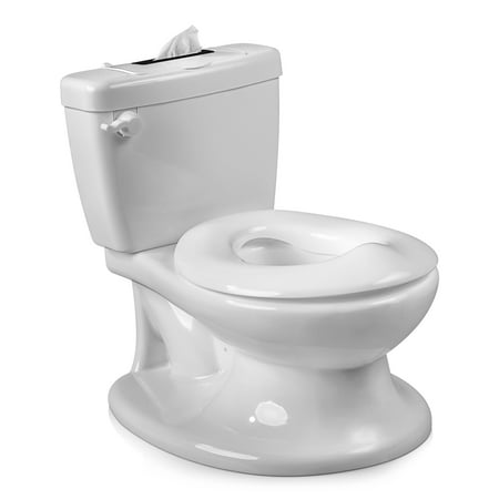 Den Haven Potty Training Seat Toilet Chair for Toddler Girls Boys Baby Kids - Portable Travel Trainer with Removable Bowl and Wipe
