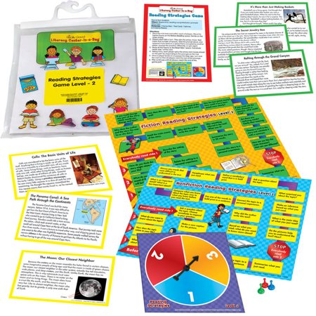 Reading Strategies Game Literacy Center Level 2 (Instant Literacy Center)