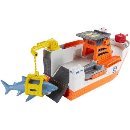 Matchbox Car-Go Commander Shark Ship