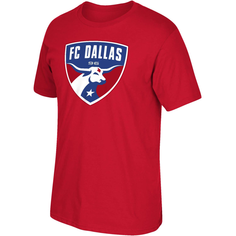 MLS FC Dallas Big Mens Oversized Logo Short Sleeve Tee, 2XL