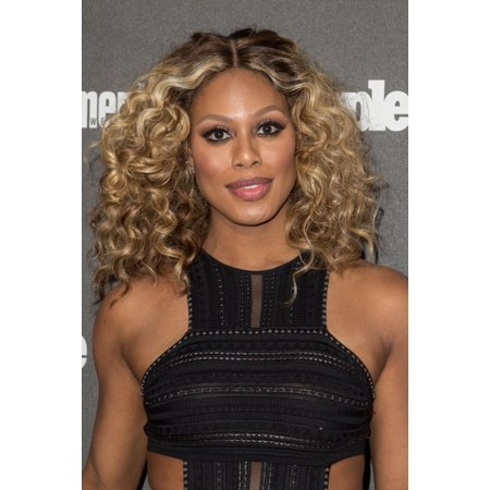 Laverne Cox At Arrivals For People Magazine And Entertainment Weekly Ny Upfronts Celebration Canvas Art     16 X 20