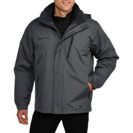 Swiss Tech Big Mens 3 In 1 System Jacket