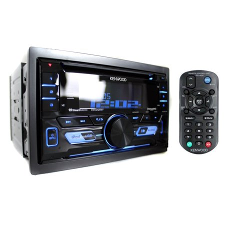 Kenwood DPX502BT Double-DIN In-Dash CD Receiver with Bluetooth, Front USB  and Auxiliary Inputs and SiriusXM Ready