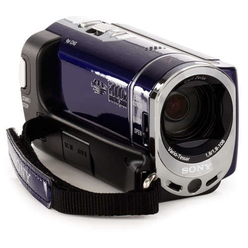 Sony Handycam SX44 Blue 4GB Flash Memory Camcorder with 60x Optical Zoom