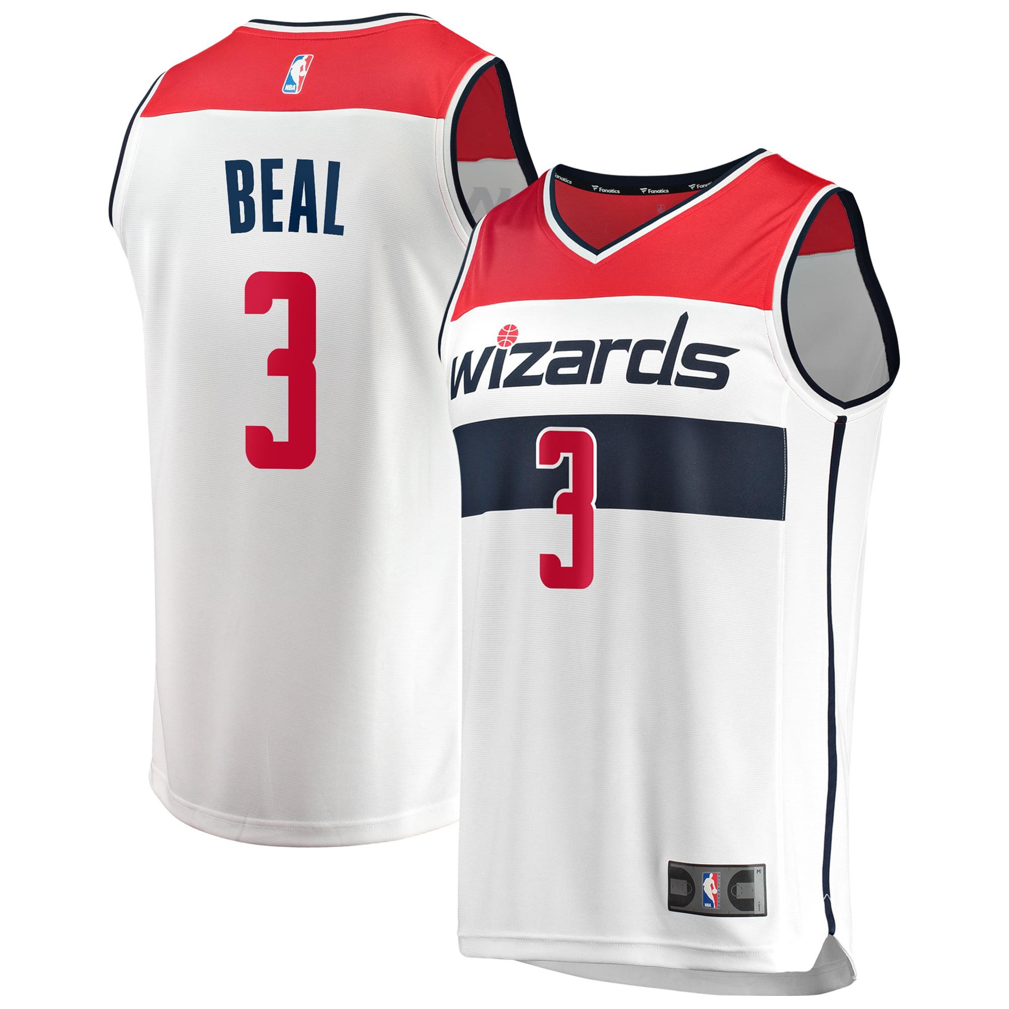 Bradley Beal Washington Wizards Fanatics Branded Fast Break Replica Jersey White - Association Edition