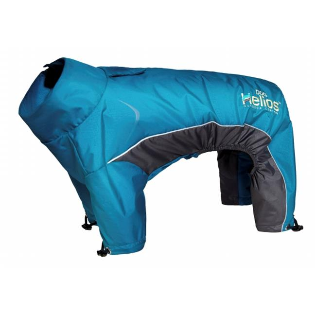 Command JKHL4BLXL Blizzard Full-Bodied Adjustable & 3M Reflective Dog Jacket, Extra Large - Blue