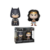 Funko Wonder Woman & Batman Vynl Figures
