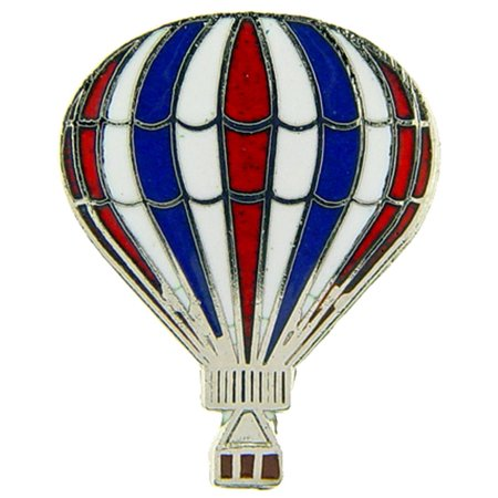 - Hot Air Balloon Pin Red White & Blue 1