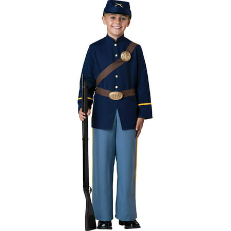 Child Boy Civil War Soldier Costume by Incharacter Costumes LLC 17058 - Childrens Roman Soldier Costume